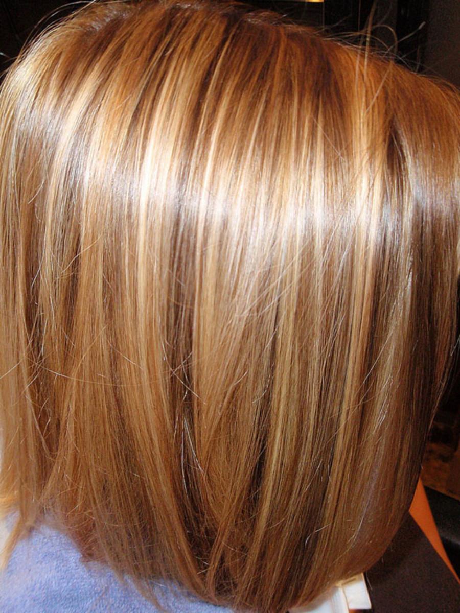 Фото цвет волос колорирование