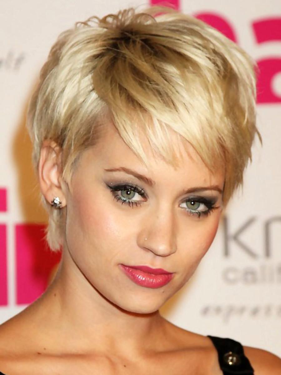 Короткие стрижки женские для жестких волос