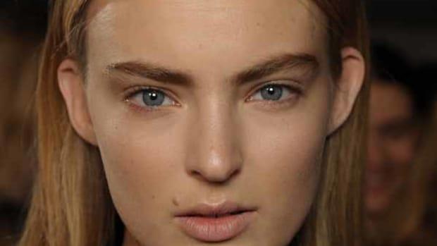 Christopher Kane - Fall 2012 makeup