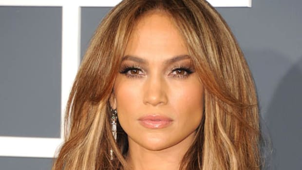 Jennifer Lopez blonde hair