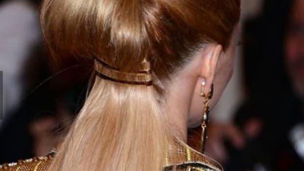 Elizabeth Banks - Met Ball 2013 hair - back