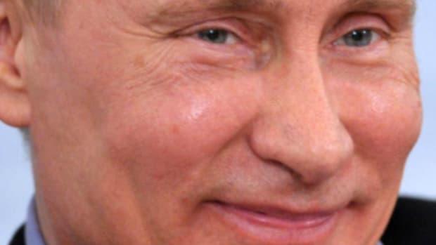 Vladimir Putin cheeks