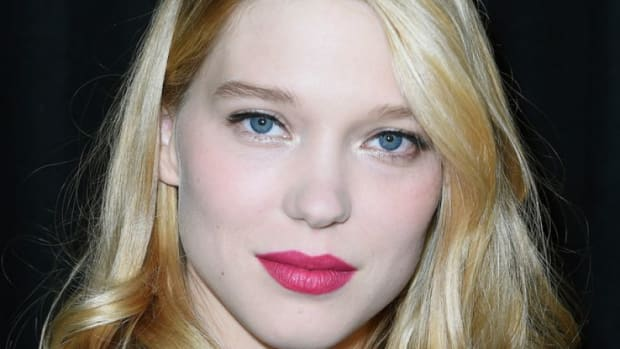 Lea Seydoux, Miu Miu show in Paris, 2014