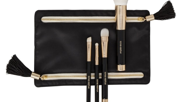 Sonia Kashuk Golden Age Four-Piece Brush Set