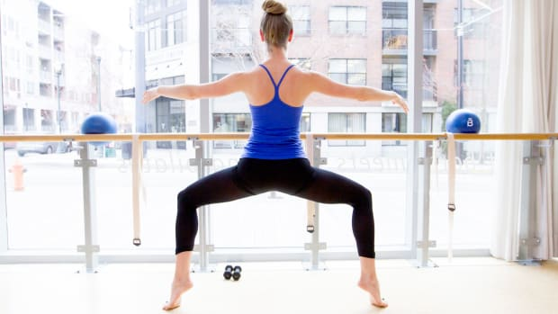 Ballet workout Barre3