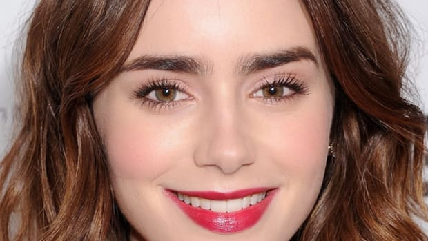 Lily Collins makeup, Glamour Women of the Year awards, 2013 (2)