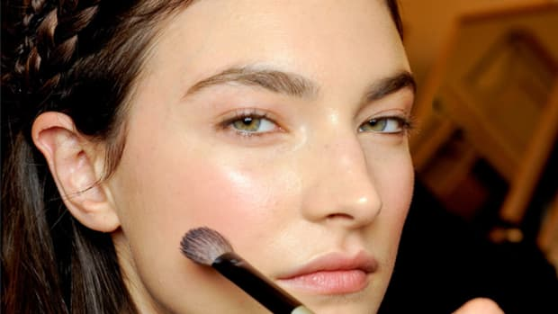 Emilio Pucci - Fall 2012 makeup