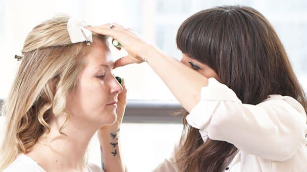Crest makeover - makeup