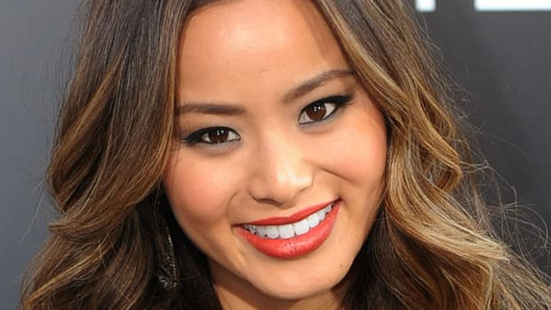 Ombre Asian Hair - Jamie Chung, The Hangover Part II premiere, 2011