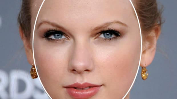 Taylor Swift oval face