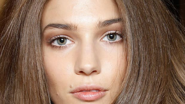 Versace Spring 2012 hair