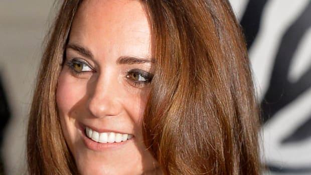 Kate Middleton medium brown hair