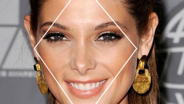 Ashley Greene diamond face
