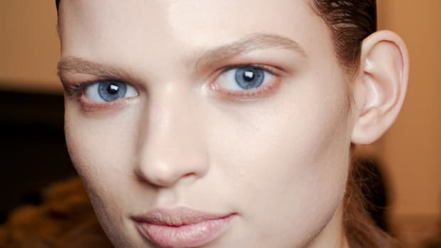 Calvin Klein - Fall 2012 makeup