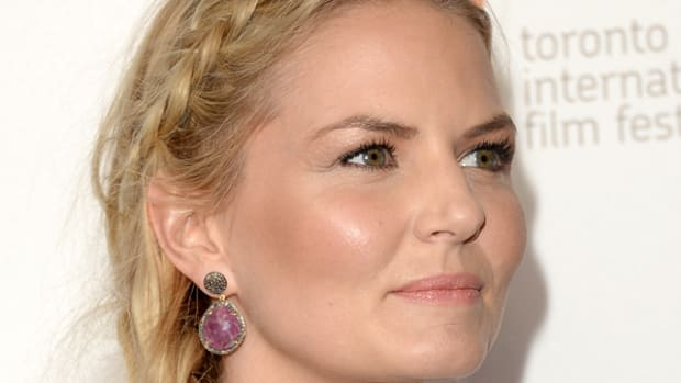 Jennifer Morrison hair - fishtail braid - Gravity premiere, 2013