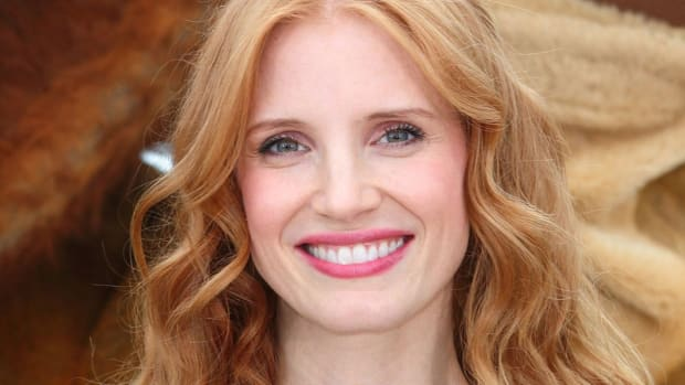 Jessica Chastain, Madagascar 3 Cannes photocall, 2012