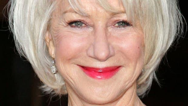 Helen Mirren mature makeup look