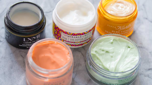 Skincare in jars
