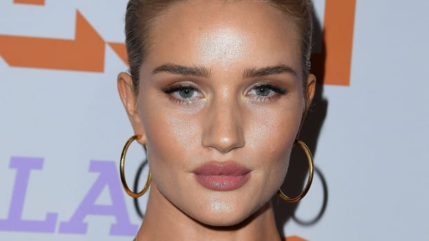 Rosie Huntington-Whiteley before and after