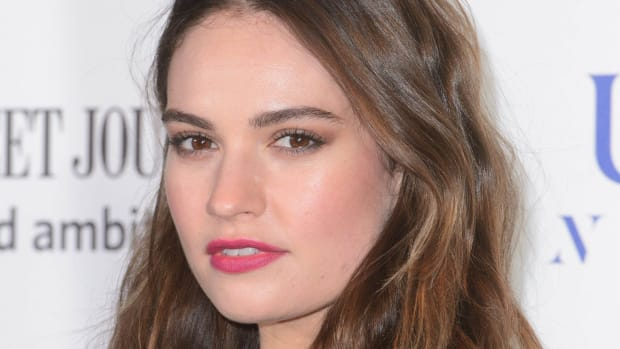 Lily James, The National Theatre Gala, London, 2017