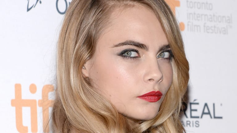 Cara Delevingne's Red Lips and Smoky Eyes Will Mesmerize You