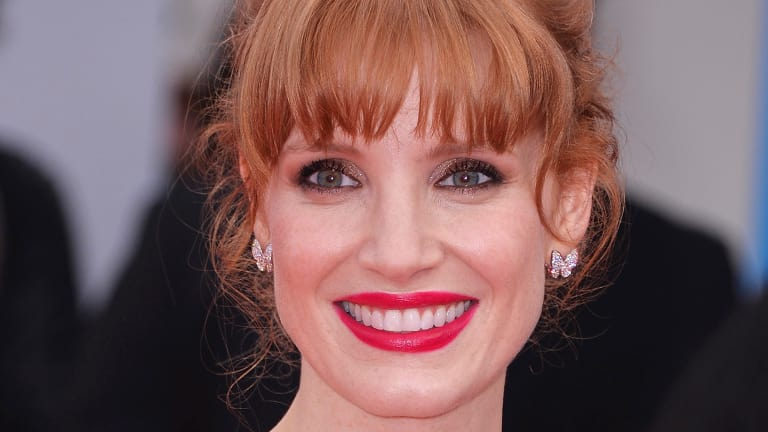 Jessica Chastain Proves Redheads Can Wear Red Lipstick