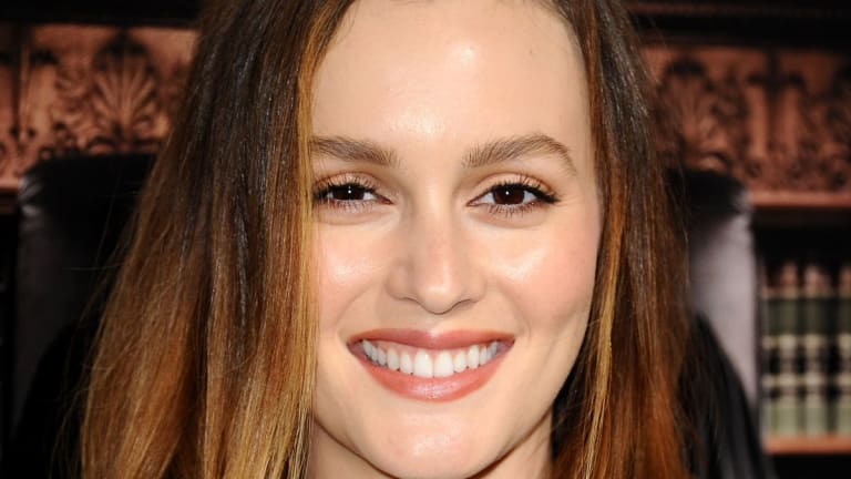 Leighton Meester Has Dicovered a Brown Lipstick That Isn't Scary