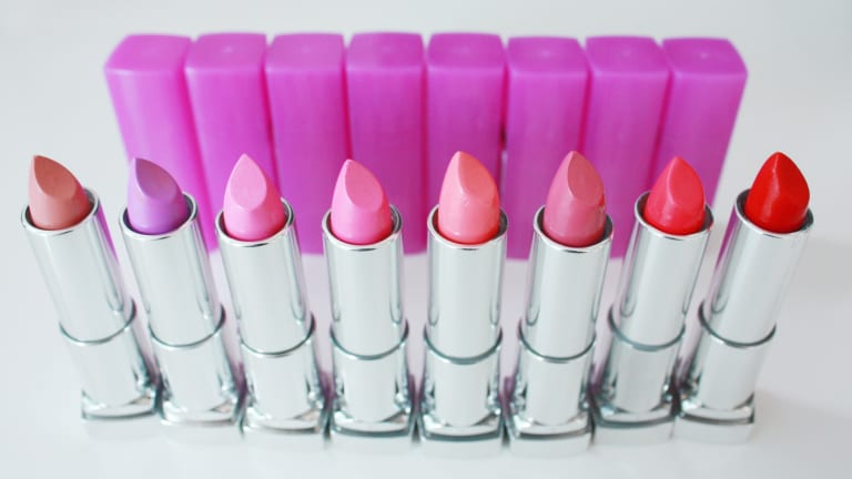 Maybelline's New Rebel Bloom Lipsticks Are Pastels That Pop