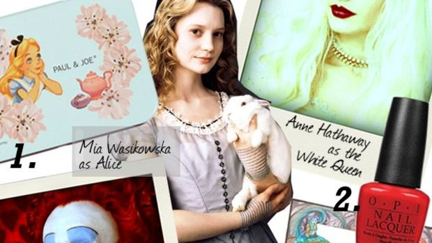 inspiration-board-alice-in-wonderland