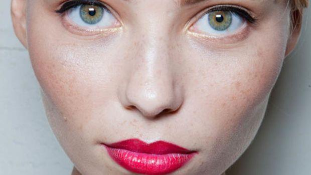 Jason Wu - Spring 2013 makeup