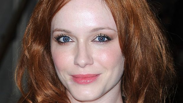 Christina Hendricks - Versace Couture Show - July 2012