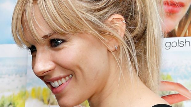 Sienna Miller - Just Like a Woman premiere, New York, June 2013 - ponytail