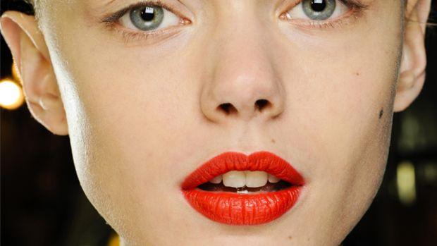 Rick Owens - Fall 2012 makeup
