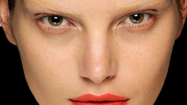 Rick Owens - Spring 2012 makeup