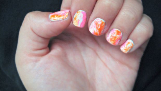 Marble nails - final