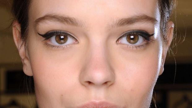 Naeem Khan - Fall 2012 makeup