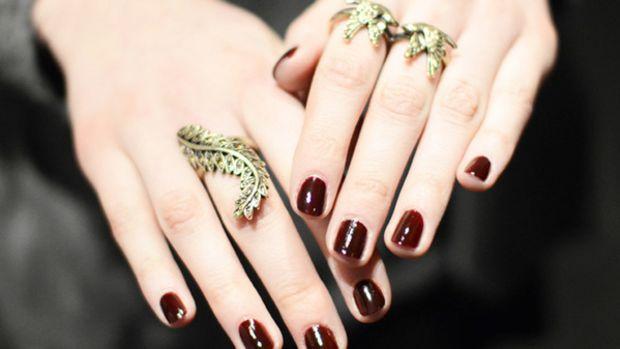 Jenny Packham - Fall 2012 nails