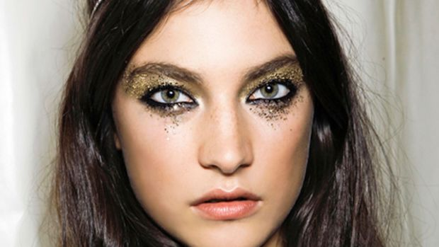 DSquared2 - Spring 2012 hair and makeup
