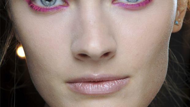 Donna Karan - Spring 2013 makeup