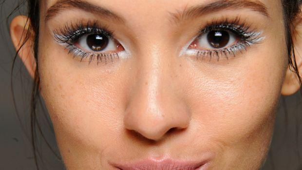 Nanette Lepore Spring 2015 makeup