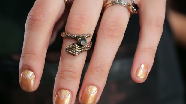 Clover Canyon Spring 2015 nails