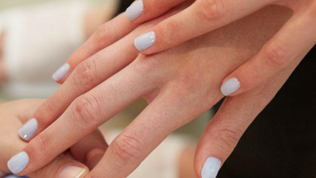 Costello Tagliapietra Spring 2015 nails