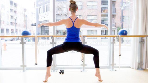 Ballet workout Barre3