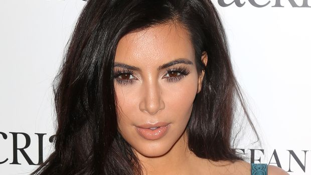 Kim Kardashian, ACRIA holiday benefit 2014