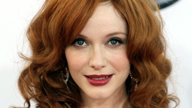 Christina Hendricks - Emmy Awards 2012
