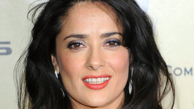 Salma Hayek - Golden Globe Awards 2013 makeup