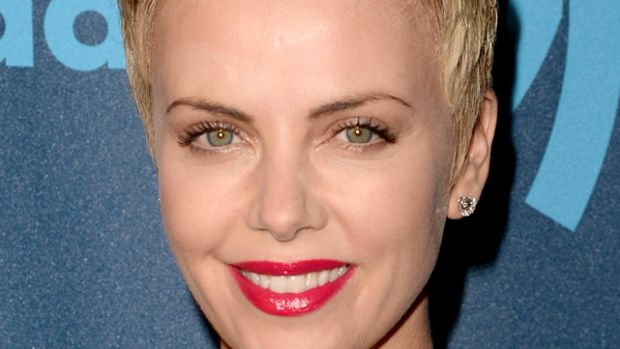 Charlize Theron - GLAAD Media Awards, April 2013