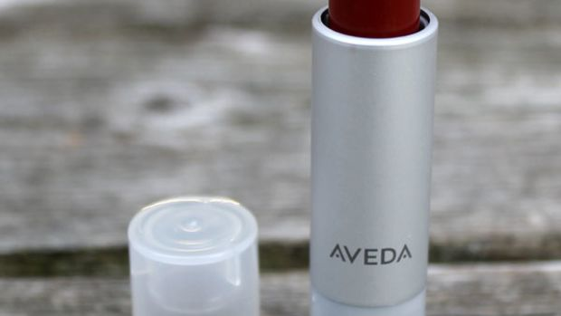 Aveda Nourish-Mint Smoothing Lip Colour in Redwood