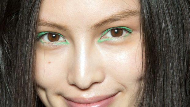 Kenzo - Spring 2013 makeup