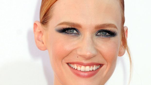 January Jones - Emmy Awards 2012